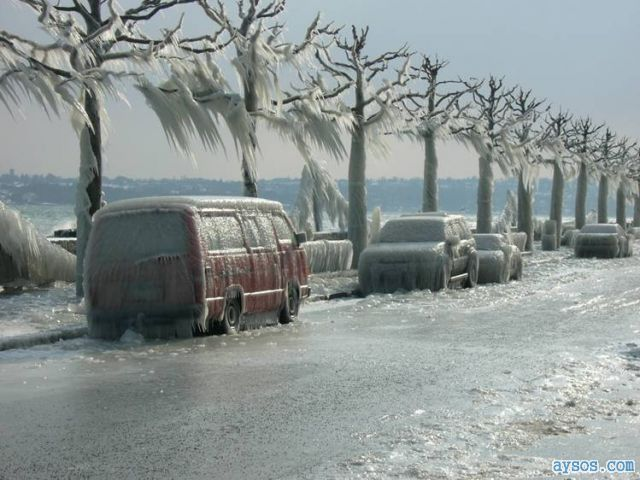 Amazing Ice Storm picture in Europe
