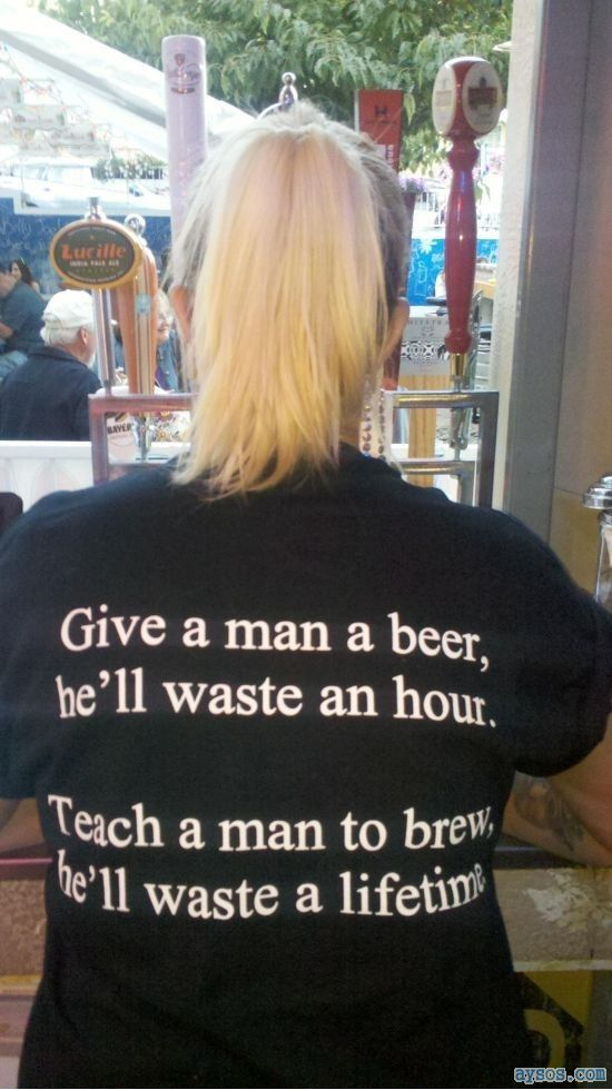 Give a man a beer already