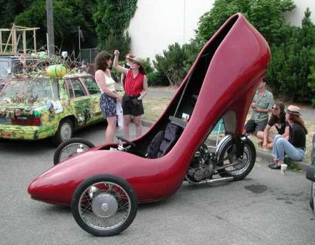 Funny Shoe Automobile