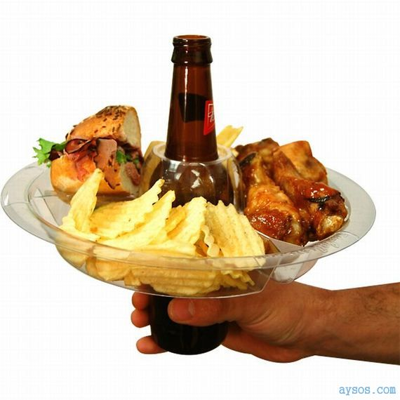 The beer appetizer plate