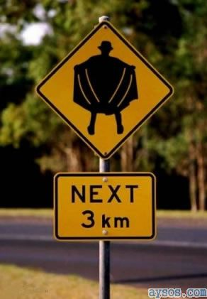 Warning pervert next 3km