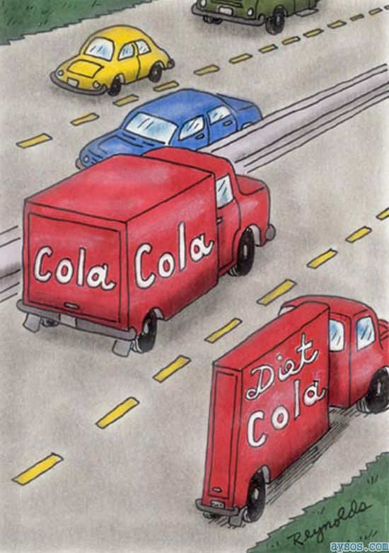 Cola vs. Diet Cola