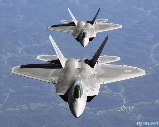 USAF F-22 Raptor fighter planes picture