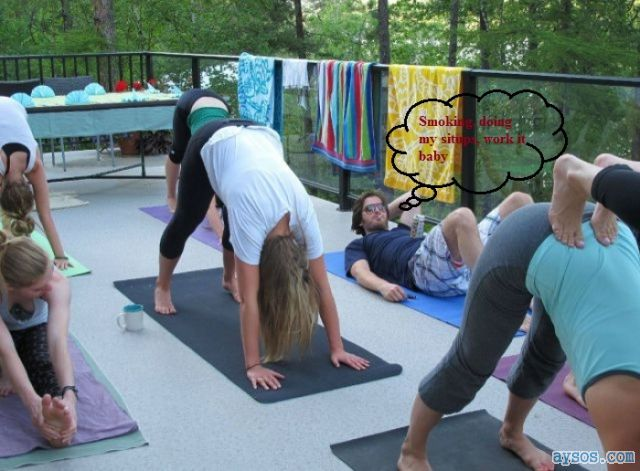 Why guys really do love Yoga