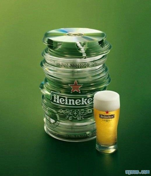 Cool Heineken Keg Can