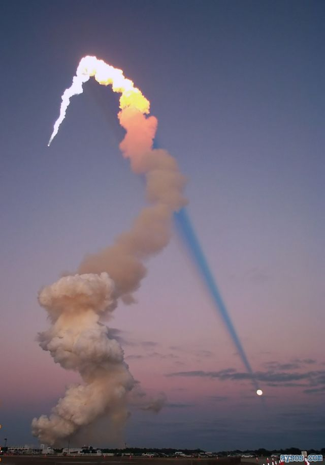 Cool NASA Rocket Launch Picture