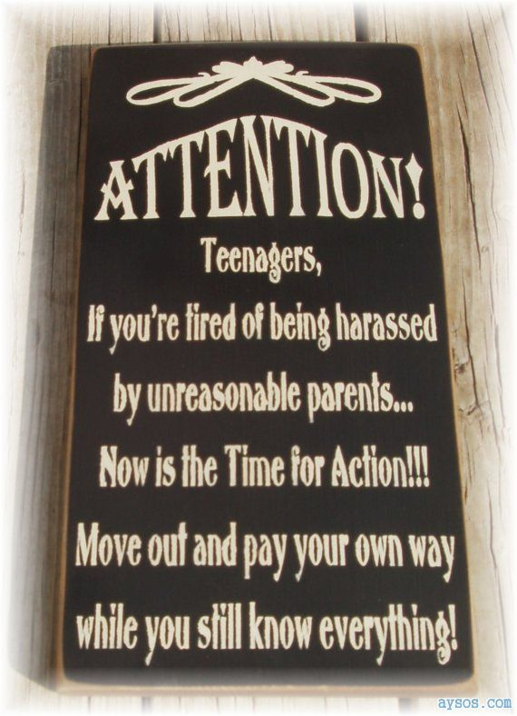Teenagers harassed by their parents