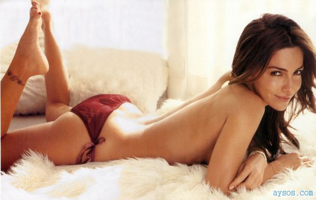 Vanessa Marcil topless in Panties