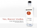 Bacon flavored Vodka