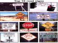 Various Funny Road Signs