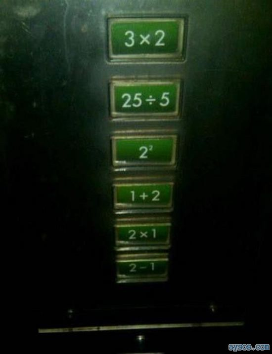 Elevator for smart people