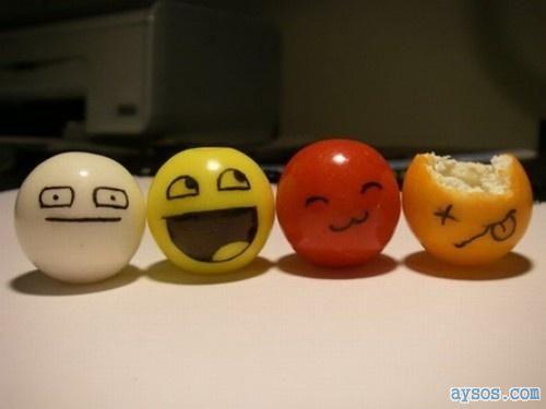 Funny Creative Ping Pong balls