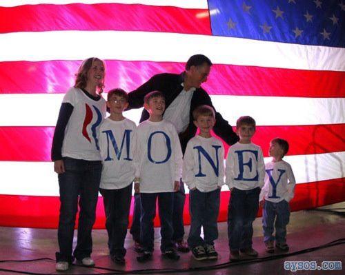 Mitt Romney can spell Money