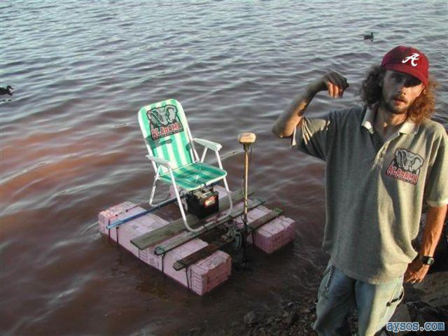 Redneck Bass Boat