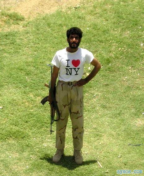 I love NY Terrorist