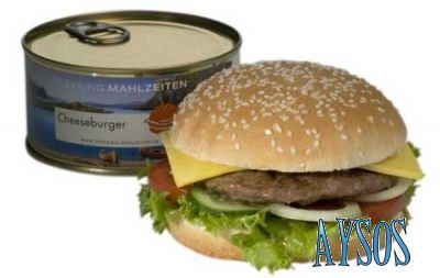 Cheeseburger in a can?