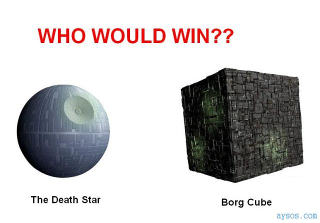 Death Star of the Borg cube