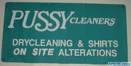 Pus$y Cleaners