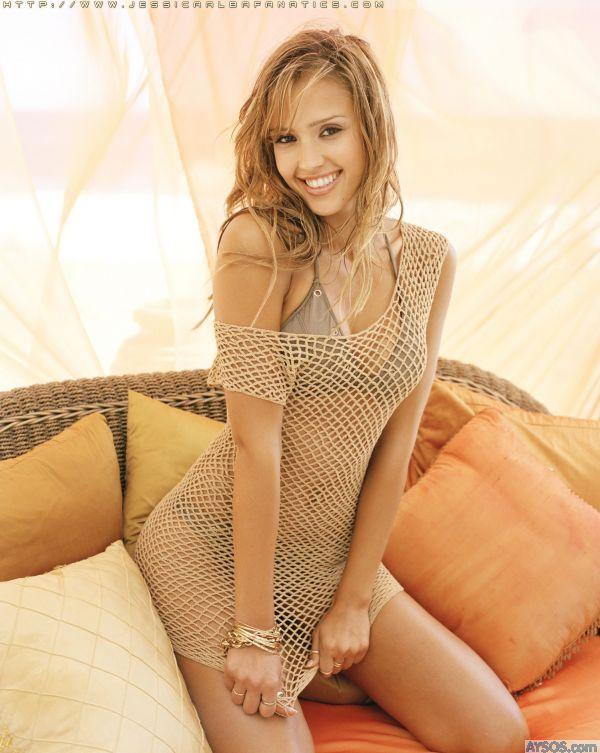 Jessica Alba Mesh outfit