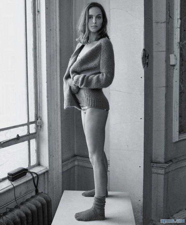 Natalie Portman legs and socks