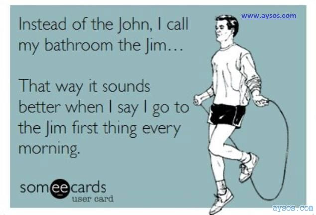 Bathroom John or Bathroom Jim