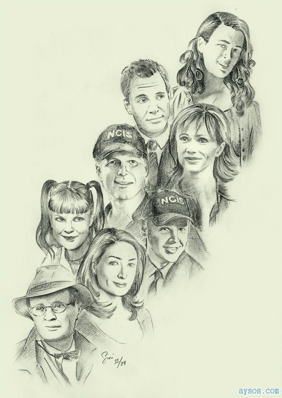 Great NCIS sketch of characters