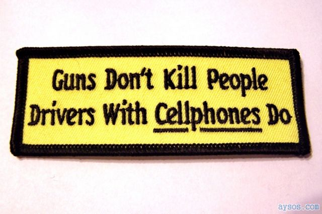 Cell Phones Kill People Not Guns