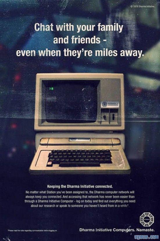 Old Dharma initiative computer