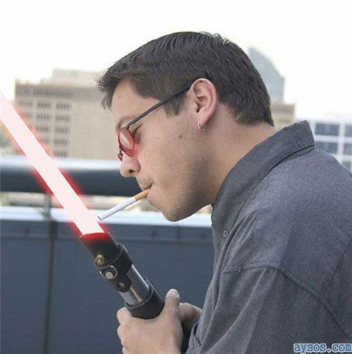 Light Saber Cigarette Lighter
