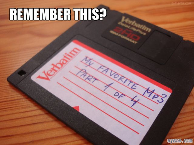 Remember the floppy disk
