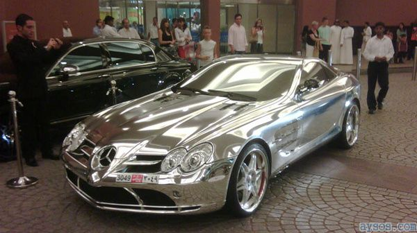 All Chrome Mercedes Benz