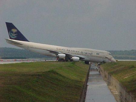 Airplane make a wrong turn