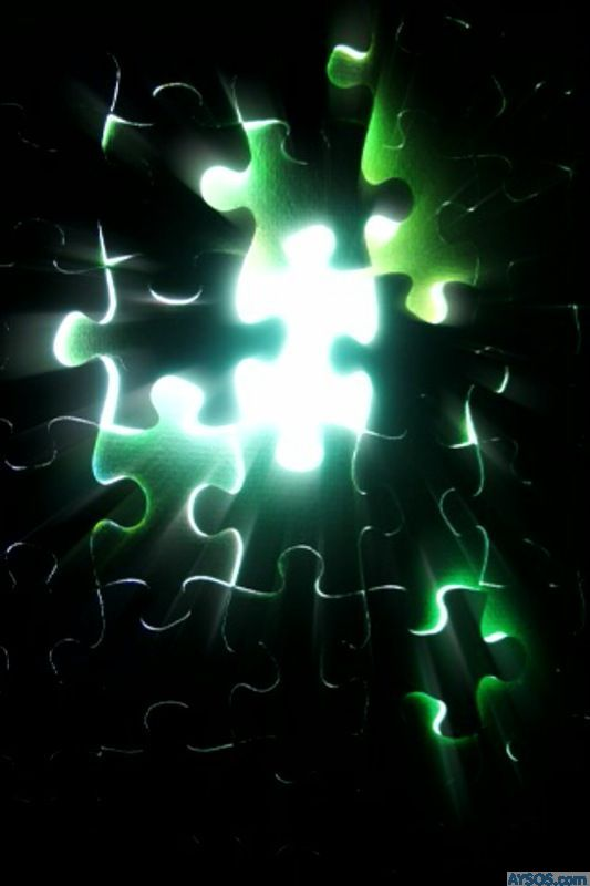 Puzzle iPhone Wallpaper