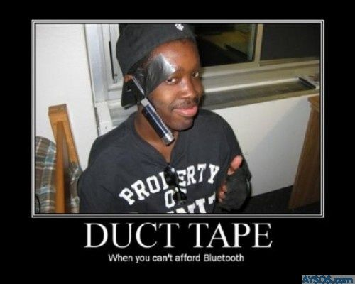 Duct Tape Dude Bro