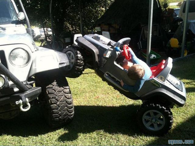 Funny Jeep Wrangler Extreme Jeepin