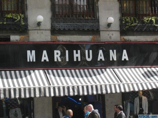 Finally a Marihuana Store