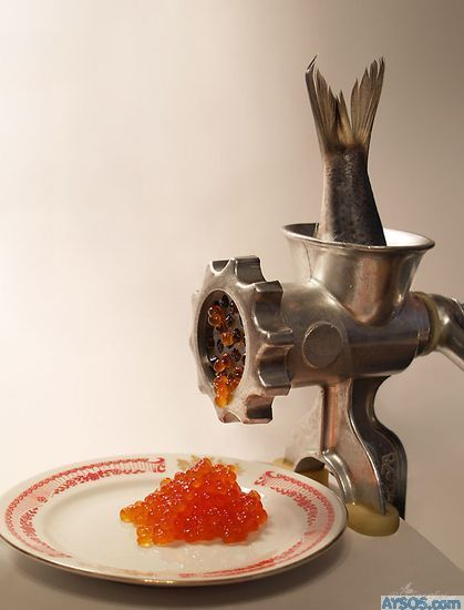 Caviar Grinder