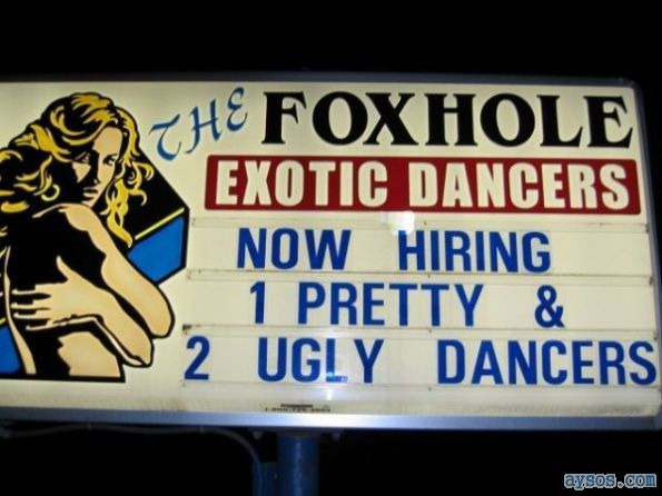 Foxhole Exotic Dancers