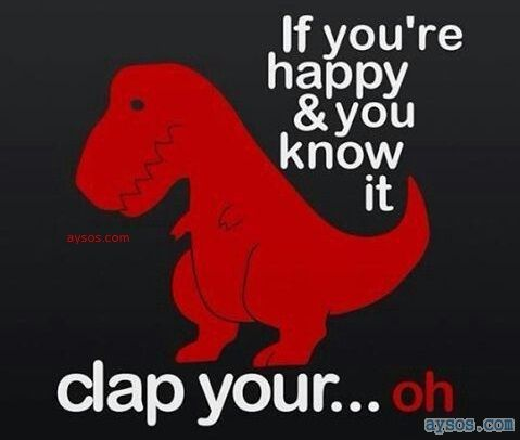 Happy and You Know it Clap