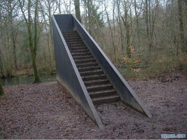 Stairs that lead to nowhere