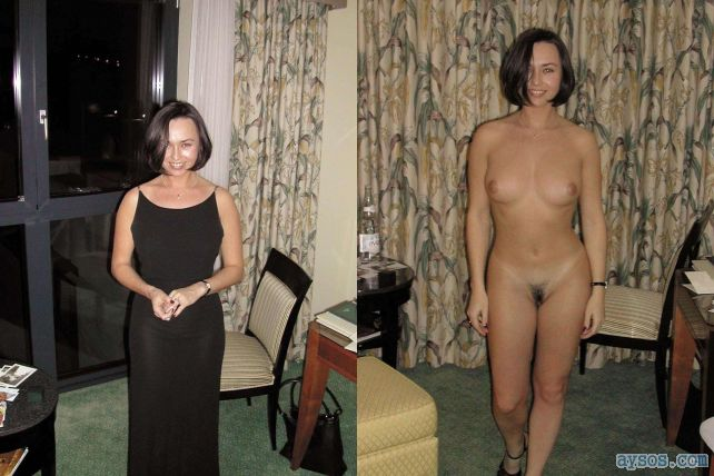 Cute but shy wife naked and not naked