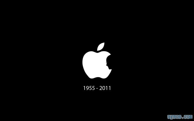 Steve Jobs Apple Logo RIP