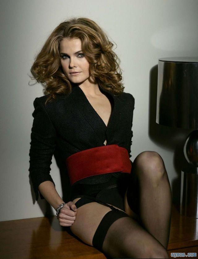 Keri Russell seductive look
