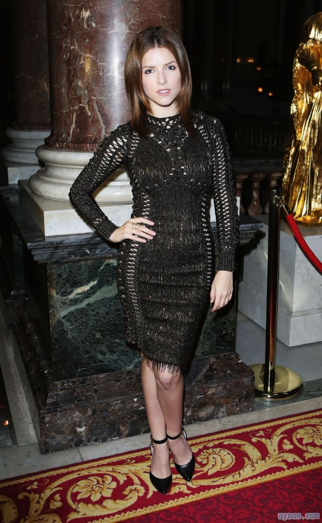 Anna Kendrick and a little black dress