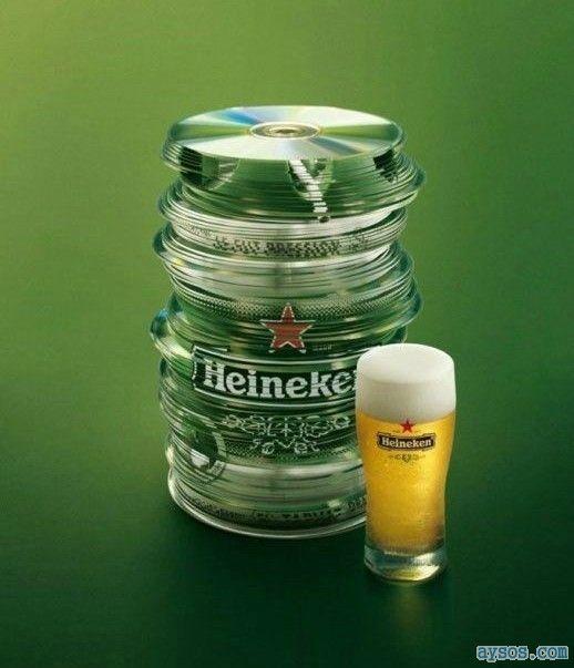 Cool Heineken Keg Can
