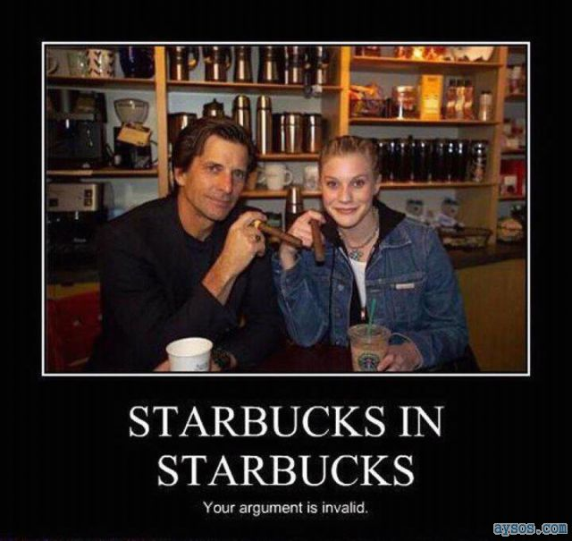 Funny picture Starbucks in Starbucks