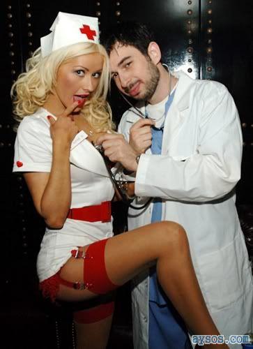 Naughty Nurse Christina Aguilera