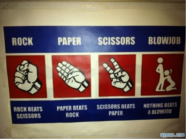 Funny picture Rock Paper Scissors