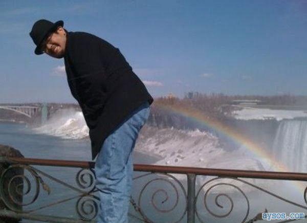Rainbow Butt