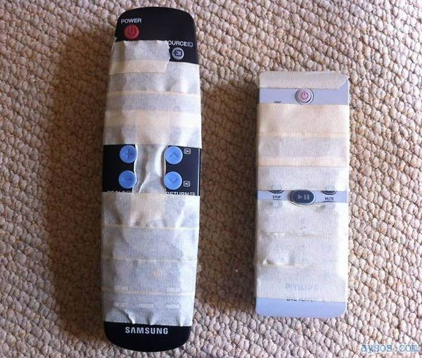 You Too can help the Old with Remotes